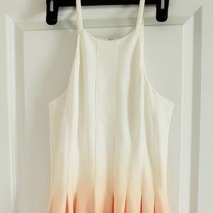 Calvin Klein ombre dress